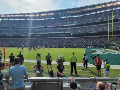 Lincoln Financial Field section 124