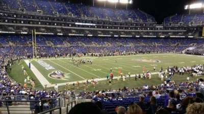 M&T Bank Stadium section 132