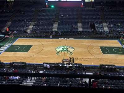 BMO Harris Bradley Center section 400