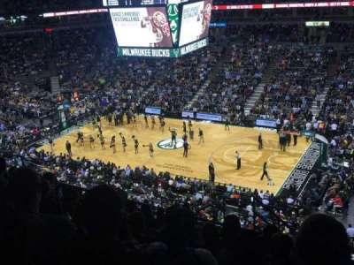 BMO Harris Bradley Center, section: 419, row: M, seat: 9