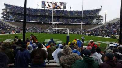 Beaver Stadium, section: NF, row: 1, seat: 8