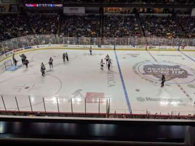 Huntington Center section 208