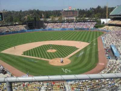 Dodger Stadium section 3rs
