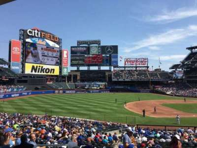 Citi Field, section: 124, row: 31, seat: 17
