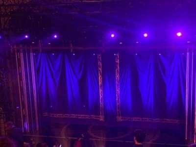 Brooks Atkinson Theatre, section: Rear Mezzanine RC, row: L, seat: 106
