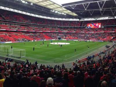 Wembley Stadium, section: 129, row: 31, seat: 201