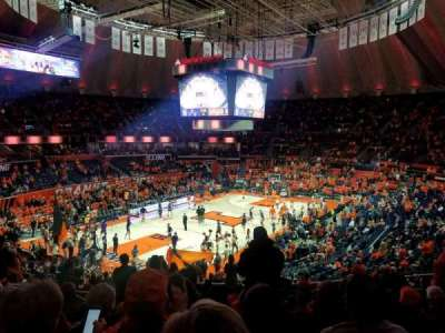 State Farm Center, section: 125, row: 11, seat: 7