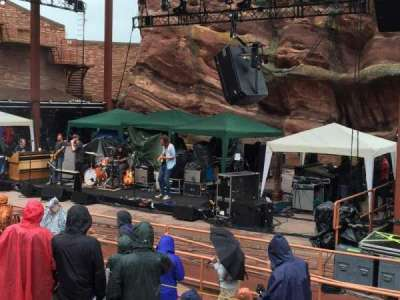 Red Rocks Amphitheatre, section: 1, row: 7, seat: 20