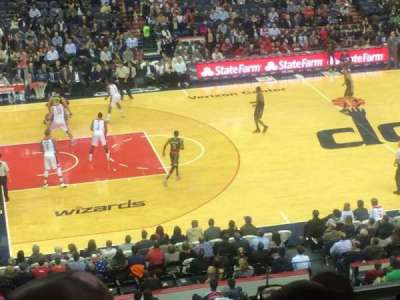 Verizon Center, section: 214, row: F, seat: 1