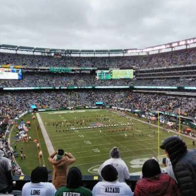MetLife Stadium section 204