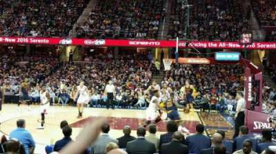 Quicken Loans Arena section 127
