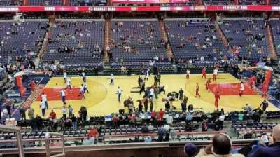 Verizon Center, section: 200, row: F, seat: 3