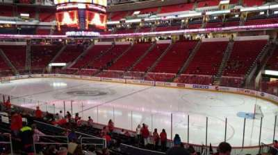 PNC Arena, section: 101, row: H, seat: 1