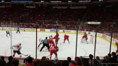 PNC Arena, section: 101, row: H, seat: 4