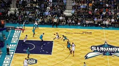 Spectrum Center, section: 209, row: Q, seat: 111
