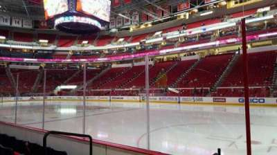 PNC Arena, section: 101, row: d, seat: 3