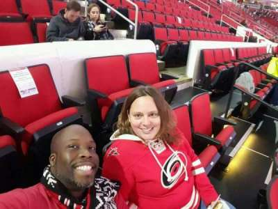 PNC Arena, section: 101, row: d, seat: 3,4