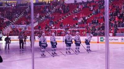PNC Arena, section: 101 , row: d, seat: 3