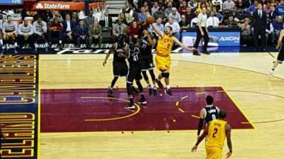 Quicken Loans Arena section C107