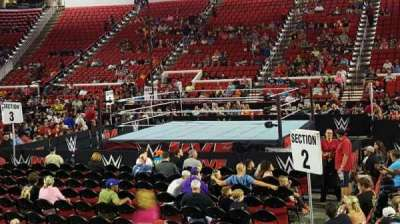 PNC Arena, section: 118, row: H, seat: 8
