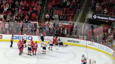PNC Arena, section: 101, row: XX, seat: 7
