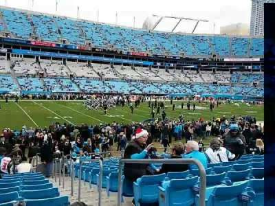 Bank of America Stadium, section: 136, row: 14, seat: 1