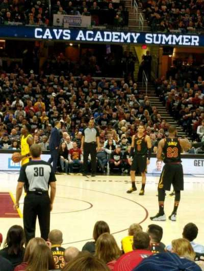 Quicken Loans Arena section 108