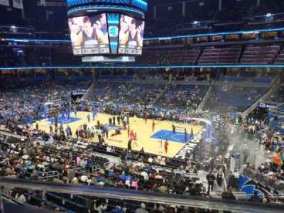 Amway Center section Club A