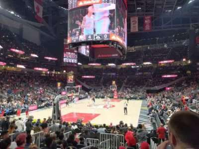 State Farm Arena section 112