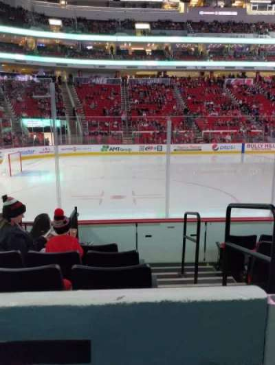PNC Arena section 107