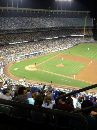 Dodger Stadium section 18RS