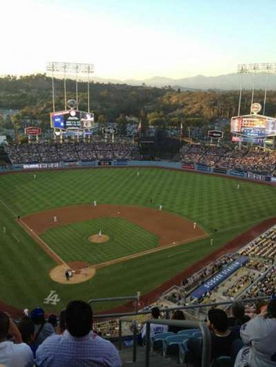 Dodger Stadium, section: 4TD, row: J, seat: 19