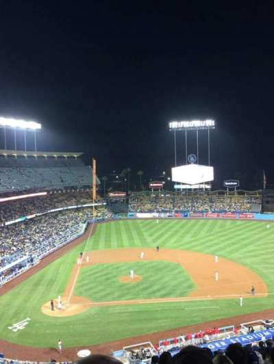 Dodger Stadium, section: 10RS, row: O, seat: 3