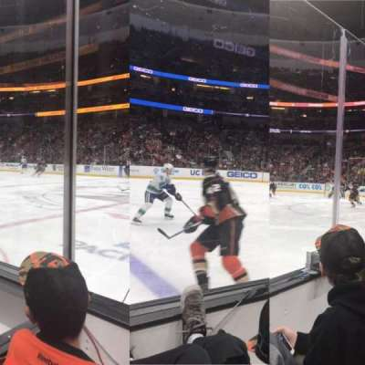 Honda Center, section: 221, row: B