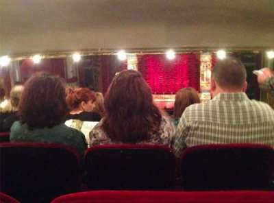 PrivateBank Theatre, section: Dress Circle C, row: F, seat: 209