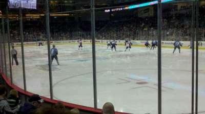Huntington Center, section: 103, row: e, seat: 6