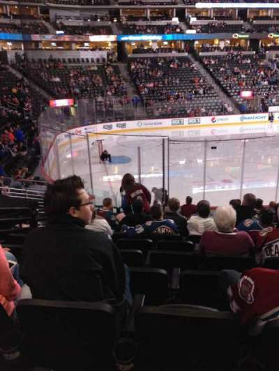 Pepsi Center, section: 130, row: 14, seat: 11