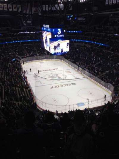 Pepsi Center, section: 366, row: 11, seat: 7