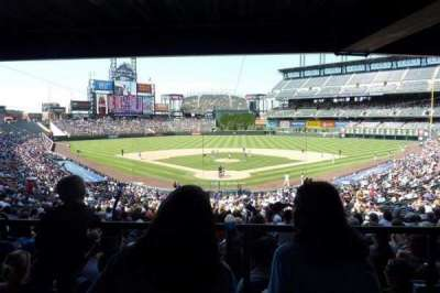 Coors Field section 130