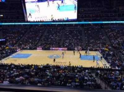 Pepsi Center, section: 260, row: 1, seat: 10