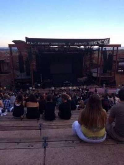Red Rocks Amphitheatre, section: Reserved, row: 29, seat: 96