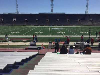 Ladd Peebles Stadium, section: F, row: 14, seat: 25