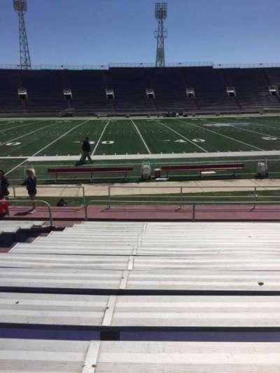 Ladd Peebles Stadium, section: G, row: 12, seat: 22