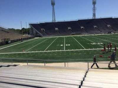 Ladd Peebles Stadium, section: I, row: 12, seat: 13