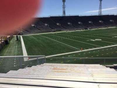Ladd Peebles Stadium, section: K, row: 13, seat: 5