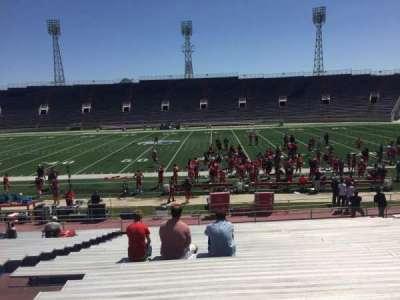 Ladd Peebles Stadium, section: E, row: 24, seat: 18