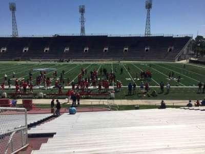 Ladd Peebles Stadium, section: D, row: 26, seat: 19