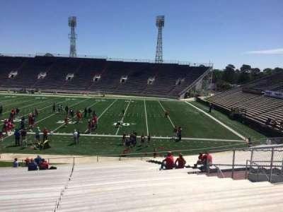 Ladd Peebles Stadium, section: C, row: 31, seat: 14