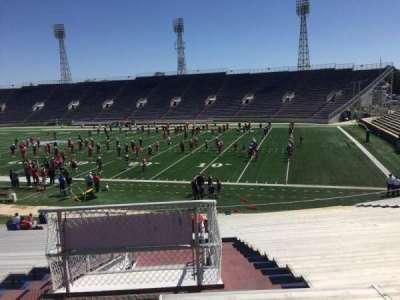 Ladd Peebles Stadium, section: B, row: 31, seat: 31