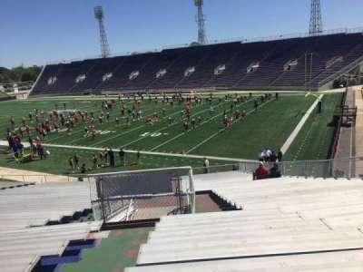 Ladd Peebles Stadium, section: A, row: 34, seat: 16